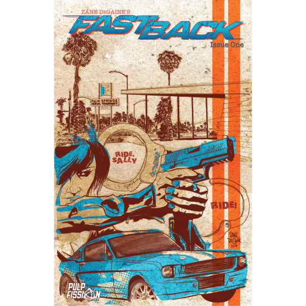 Fastback Issue One - Cover
